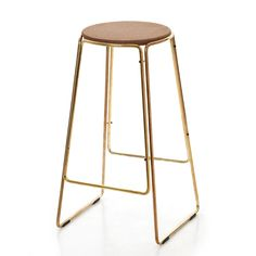 Smed Stool in collaboration with Great Dane Furniture and Ox Design, Denmark. Love love this.. cork, brass.... 60's modernist heaven. Covet this for DOOR32