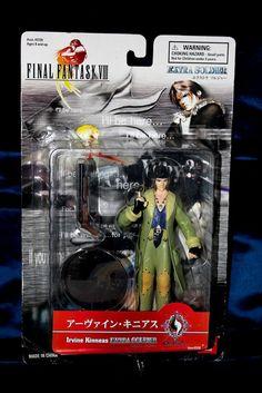 "Irvine Kinneas Final Fantasy VIII FF8 Figure ~6"" Bandai Squaresoft Rare #Bandai"