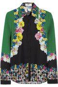 Erdem|Cecilia printed silk blouse|NET-A-PORTER.COM
