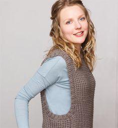photo tricot modele tricot gilet sans manche femme gratuit 12