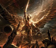 images of angels in legion | Angel of Fire Wallpapers