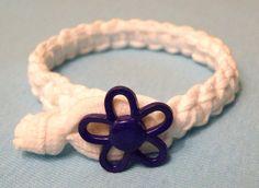 Flower Power Macrame Bracelet