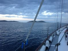 on the way Sailing Yachts