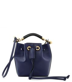 f7f69882a9bd Chloe Navy Gala Bucket Bag New Handbags