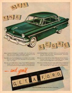 1954 Ford Crestline Town Sedan