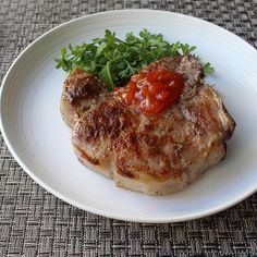 "How to ""Dry-Brine"" Pork Chops Smothered Pork Chops Recipe, Pan Fried Pork Chops, Grilled Pork Loin, Juicy Pork Chops, Pork Loin Chops, Boneless Pork Chops, Mongolian Pork Chops Recipe, Duck Sauce, Hoisin Sauce"