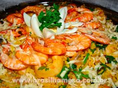 70 Ideas For Seafood Pizza Shrimp Seafood Soup Recipes, Seafood Appetizers, Seafood Pasta, Seafood Dinner, Easy Cooking, Cooking Recipes, Healthy Recipes, Portuguese Recipes, Lunches And Dinners