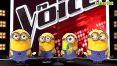 """Minions sings """"Banana"""" in """"The Voice MMD"""""""