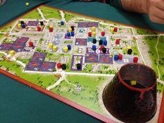 Boardgames; The Downfall of Pompeii; Photographer Tara Green