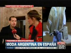 C5N - MODA: PASARELA MICATLANTICA. MODA ARGENTINA EN ESPAÑA - YouTube