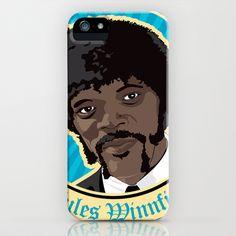 Jules Winnfield Portrait iPhone Case by HeyTrutt - $35.00