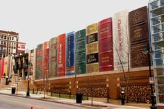 Kansas City Public Library, Central Branch KCMO...the parking garage, wait until you see the kids section!
