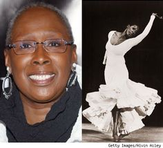 Judith Jamison, former dancer and current director of Alvin Ailey Dance Company.  Exquisite.