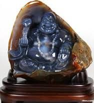 Image result for happy buddha ruby carving