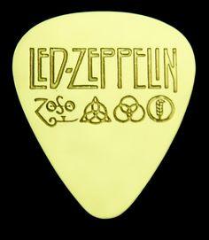 Led Zeppelin  Brass Guitar Pick by ColemanCustomPicks on Etsy, $15.00