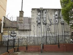 Phlegm, Heneage Street, E1. | 26 Stunning Street Art Murals In East London
