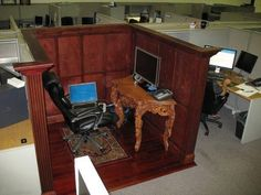 nice, inspiring-- cubicle by an awesome person