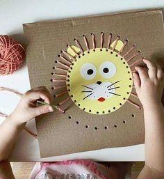 und Spielen fr Kinder - children FOR and . - -Basteln und Spielen fr Kinder - children FOR and . Kids Crafts, Toddler Crafts, Preschool Crafts, Diy And Crafts, Arts And Crafts, Paper Crafts, Rock Crafts, Homemade Crafts, Easy Crafts