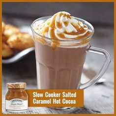 Take your hot cocoa from ordinary to extraordinary with a little Simple Delight™ Salted Caramel Topping.