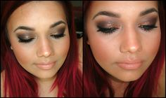 Glam Grunge Makeup FT. theBalm Nude Tude Palette | #tbtSHAExo