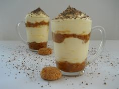 Ínycsiklandó poharas desszert, mennyei kávés mascarpone krém, hűsítő finomság! - Ketkes.com Cake In A Jar, Eat Pray Love, Hungarian Recipes, Trifle, Sweet Desserts, Cake Cookies, Cupcakes, No Bake Cake, My Recipes