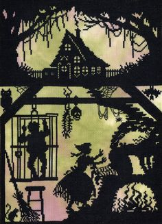 Hansel and Gretel Fairy Tale cross stitch kit