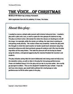 Elementary School Christmas Concert- The Voice. by Shop The Arts with Ms Polowich Christmas Skits, Christmas Concert, Christmas Ideas, Elementary Music, Elementary Schools, Windows Movie Maker, Song Suggestions, Teaching Music, I School