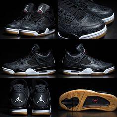 e95cc4acd5d Kaws X Air Jordan 4 Black Cyber Monday Sneaker Bar Detroit