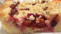 Pflaumenkuchen vom Blech mit Butterstreuseln Plum cake from the sheet with butter crumble Plum cake with butterRhubarb cake from the platePlum cake with Winter Desserts, Fun Desserts, Delicious Desserts, Cheesecake Recipes, Pie Recipes, Sweet Recipes, Pudding Desserts, Pudding Recipes, Oreo