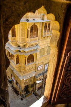 Through the window…Jaisalmer,India by KH Ten