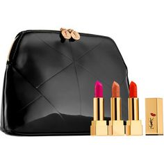 Yves Saint Laurent Rouge Pur Couture Kiss & Love Collector's Trio