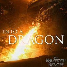 """""""Maleficent"""" Diaval as a dragon Walt Disney, Disney Magic, Disney Love, Disney Pixar, Maleficent 2014, Maleficent Dragon, Maleficent Quotes, Children's Films, Film Genres"""
