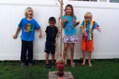 Messy Projects for kids: Explosive Science experiment at Serving Up the Skinny