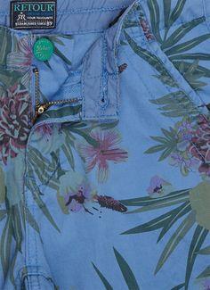 Retour Jeans Kik shorts met bloemdessin • de Bijenkorf