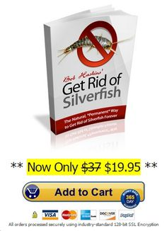 Silverfish Control Guide is a digital ebook which will help you to get rid of silverfish naturally within one week.