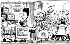 The Economist, Oct 2012 Political Cartoon Analysis, Political Cartoons, Liberal Politics, Brain Teasers, Satire, Peanuts Comics, Humor, History, Women's Rights