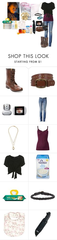 """The Walking Dead Babysitting Judith"" by werewolf-gurl ❤ liked on Polyvore featuring Steve Madden, Tiffany & Co., Motorola, Hudson Jeans, Forever 21, White Stuff, Gerber, Jellycat, Johnson's Baby and Ulla Soucasse"