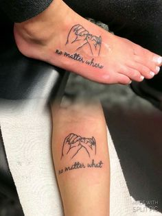 This would be a cute mother daughter tattoo
