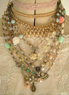 Necklace Collection by andrea singarella- I love vintage