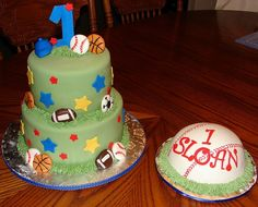sports birthday cakes for 1st birthday boy – Google Search