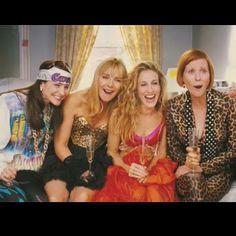 Charlotte, Samantha, Carrie, and Miranda