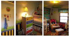 bright gender neutral nursery
