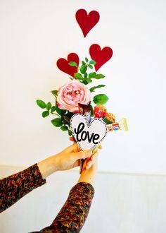 [바보사랑] 나두 발렌타인데이에 이런거 받구싶다.. /선물포장/발렌타인/화이트데이/인테리어소품/데코/초콜릿/사탕/캔디