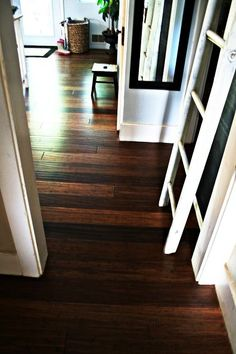 just finished up installation of bamboo floors in the kitchen and dining room, flooring, home decor, kitchen backsplash, kitchen design, New bamboo floors