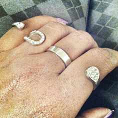 FOUR FINGER RING... Available online in gold and silver at www.fabfrosting.com. #putaringonit