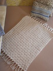 Ravelry: Throw Rug....For Barbie sized doll house