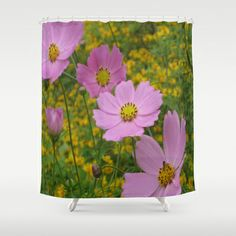 SWAYING IN THE BREEZE Shower Curtain by Annie Koh - $68.00