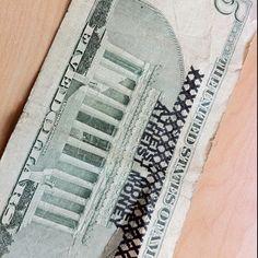 Stamped money