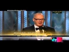 2015 GOLDEN GLOBE AWARDS (January 11, 2015) ~ Michael Keaton wins Best Actor for Motion Picture Musical or Comedy for BIRDMAN. Here's the video of his win and touching acceptance speech. (4:32) [Video]