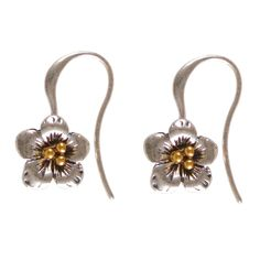 Charming Hultquist Jewellery Strawberry Flower Drop Earrings Only £15.99 at Lizzielane.com. http://www.lizzielane.com/product/hultquist-jewellery-strawberry-flower-drop-earrings/